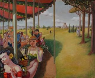 Brigitte Szenczi - Fairies go round - 2010