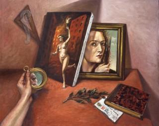 Brigitte Szenczi - Triple autorretrato - 1986