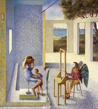 Juan Antonio Mañas - El anuncio de la pintura - 2000