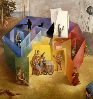 Juan Antonio Mañas - El laberinto de la representación - 1999