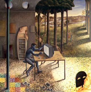 Juan Antonio Mañas - La vista o ¿engañan las apariencias? - 1997