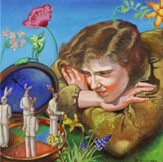 Brigitte Szenczi - Alicia y la liebre de Marzo 1 - 2008