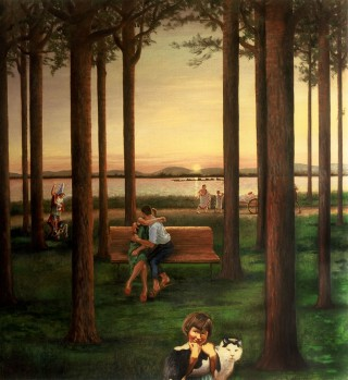Brigitte Szenczi - El bosque sincrónico - 2001
