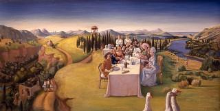 Brigitte Szenczi - Restaurante La Jeuneusse - 1999