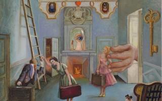 Brigitte Szenczi - Casa-de-munecas-con-Barba-Azul-30x30cm