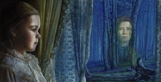 Juan Antonio Mañas - El príncipe azul - 65 x 33 cm Óleo sobre tela