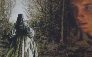 Juan Antonio Mañas - El Hada 12 x 12 cm Óleo sobre cartón 2013