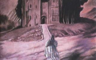 Juan Antonio Mañas - Paseante en el sueño - 24 x 19 cm Óleo sobre tela 2015