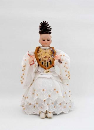 Brigitte Szenczi - Diosa niña - 19 x 23 x 34 cm, Escultura 2014