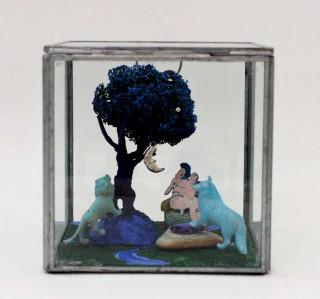 Brigitte Szenczi - El árbol de la vida - 13,5 x 13,5 x 13,5 cm, Escultura 2014